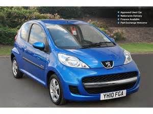 Peugeot 107 Verve Used Peugeot 107 1 0 Verve 3dr Petrol Hatchback For Sale