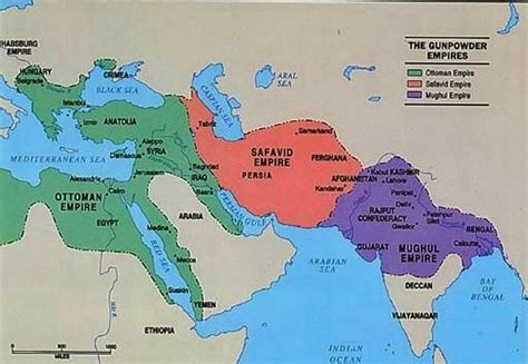 Ottoman Empire Map 1500 Historic Recurrence