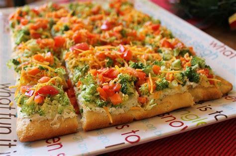 vegetables on pizza vegetable pizza i recipe dishmaps