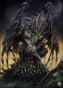 necrotic dragon elder chaos draco deviantart