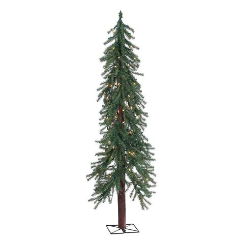 sterling 5 ft pre lit alpine artificial christmas tree