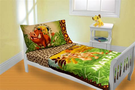Lion King Toddler Bedding Set Simba Nala Comforter Sheets Simba Crib Bedding Set