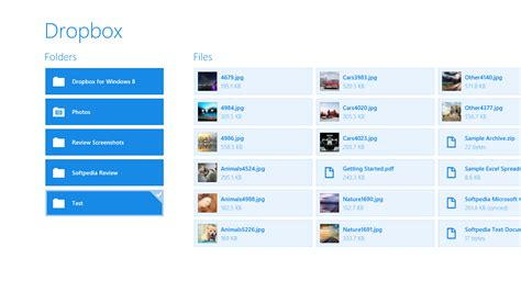 dropbox review dropbox for windows 8 review softpedia