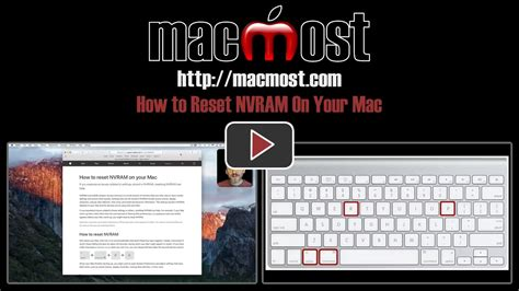 reset nvram pc keyboard how to reset nvram on your mac macmost