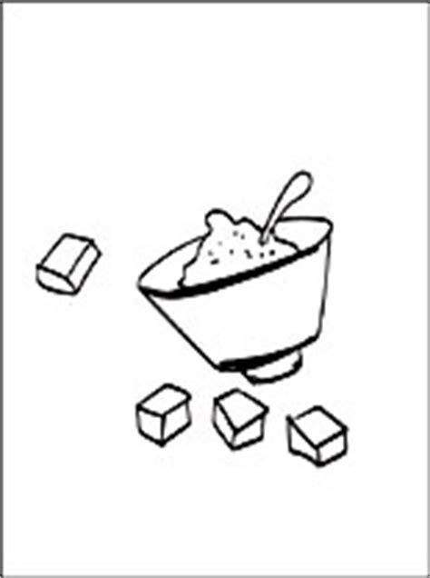 Disegno di zucchero alimento da stampare   Disegni da
