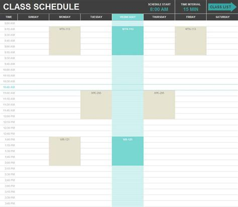 Excel Scheduling Template by Excel Spreadsheet Template For Scheduling Buff