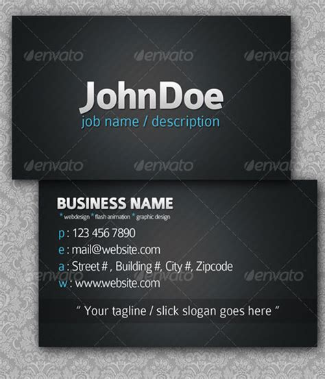 Business Owner Business Card
