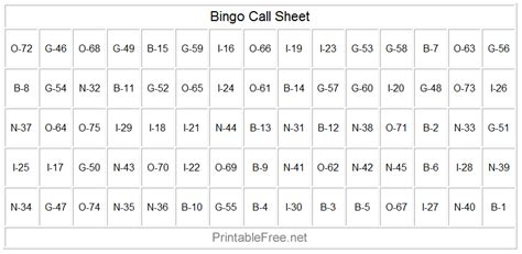 bingo calling cards template how to play bingo