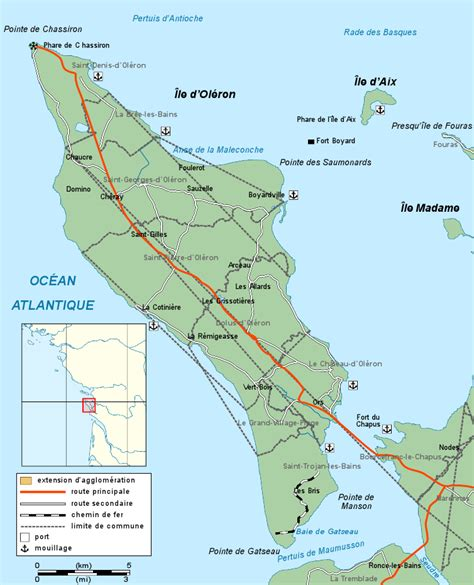 Ile D Oleron Office De Tourisme by Carte Ile D Ol 233 Arts Et Voyages