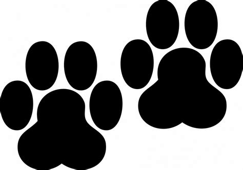 puppy prints paw prints pictures clipart best