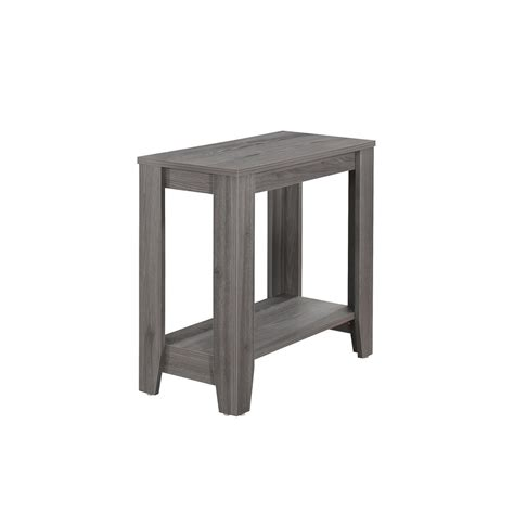 Grey Accent Table Monarch Specialties Grey Accent Table I 3118 The Home Depot