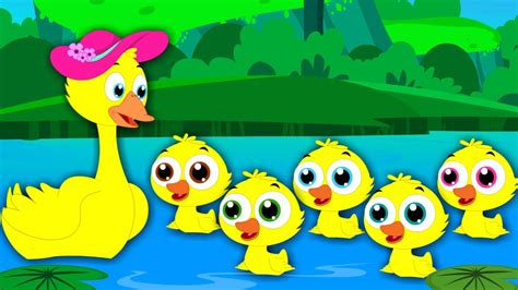 song toddlers five ducks nursery rhymes tv songs