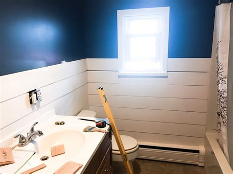 Temporary Shiplap Read This Before Installing Diy Faux Shiplap Walls