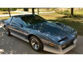 Pontiac Trans Am Firebird 1984 Pontiac Firebird Trans Am For Sale Classiccars
