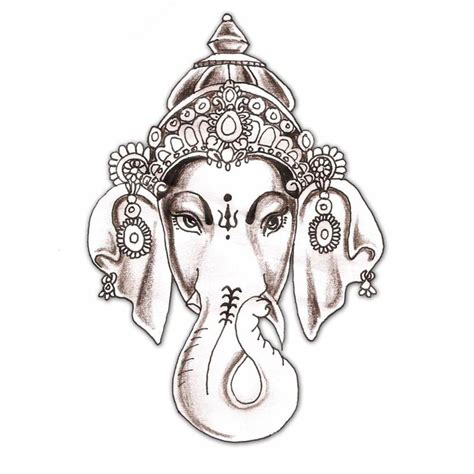 white elephant tattoo elephant hindu hindu elephant god god ganesha