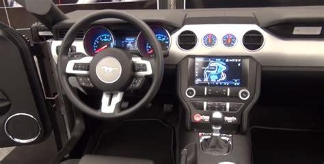 interior of 2015 mustang 2015 ford mustang interior design process autoevolution