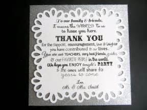30 custom wedding reception thank you cards by forjasper on etsy