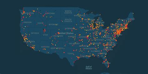 map of hazardous waste sites interactive map of toxic sites in u s find out if you