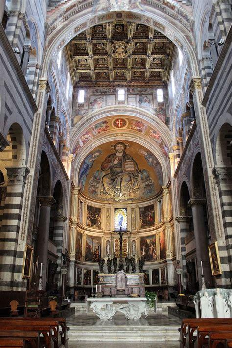 duomo pisa interno organi della cattedrale di santa assunta a pisa