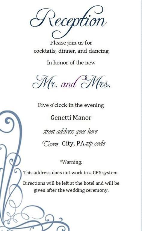 25 best ideas about wedding invitation inserts on