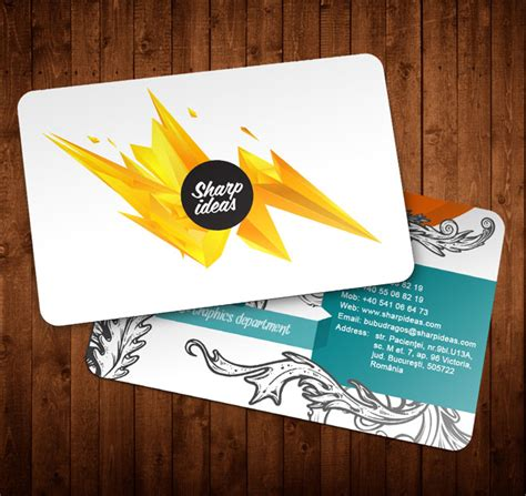 Most Beautiful Business Card Templates Free by Creative Business Cards Design 35 Creative And Most