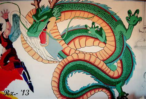 dragon ball z wallpaper mural mural dragon ball z en progreso by rxilustraciones on