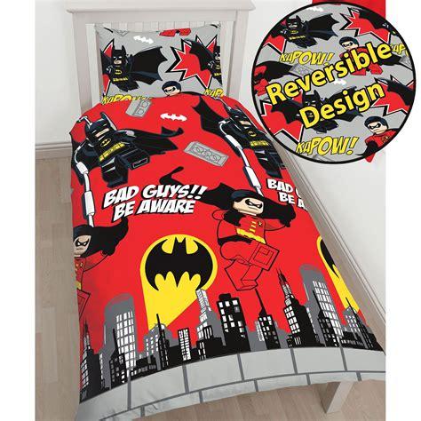 Bettwäsche Größen by Offiziell Lego Dc Superhelden Batman Kapow Einzelbettbezug