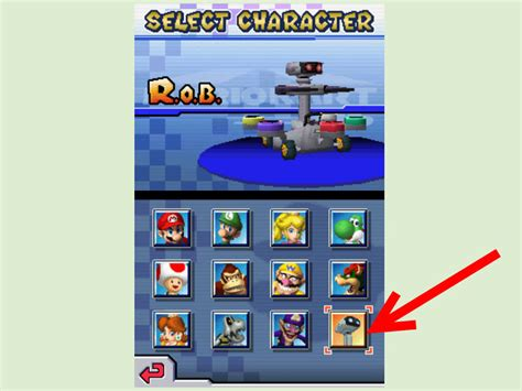 how do u get the new mystery character in cross road on the new update how to get all characters in mario kart ds 4 steps