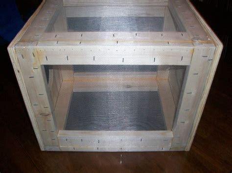 cricket cage  chevyhunter  lumberjockscom