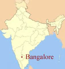 Bangalore India Map by Happy Birthday From Bangalore A Place Called Ananda