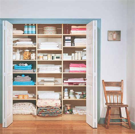 Walk In Linen Closet Design by How To Organize A Closet