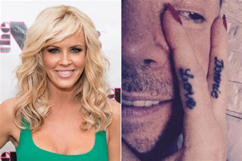 jenny mccarthy tattoo mccarthy debuts donnie wahlberg page six