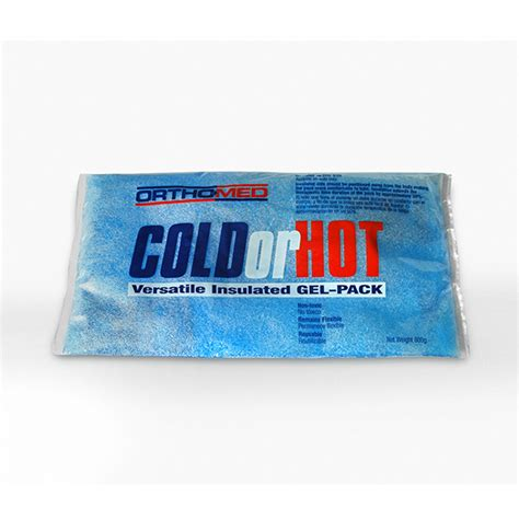 Pack Col Pack and cold gel packs orthomed inc
