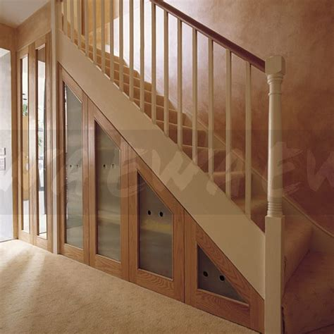 Enclosed Bookshelf Image Staircase With Understairs Concealed Storage