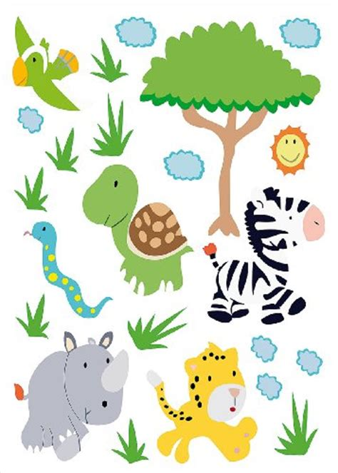 wandtattoo dschungel wandtattoo dschungel den regenwald im wohn oder kinderzimmer