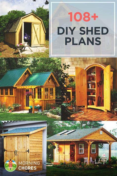 diy shed plans ideas    build