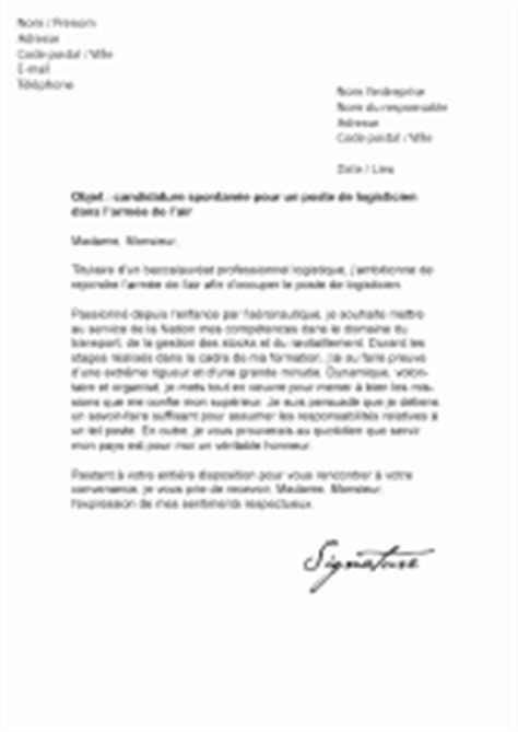 Lettre De Motivation Ecole De Sous Officier Mod 232 Les De Lettres De Motivation