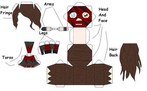 oldschool kane papercraft rvrs by idera on deviantart