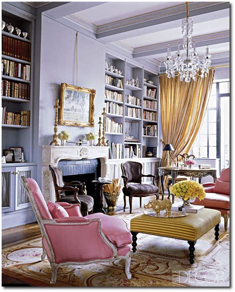 georgette farkas grand living rooms elle decor