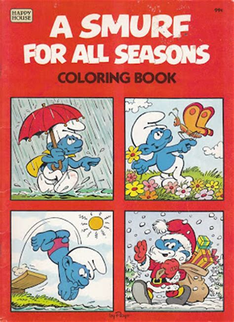smurf coloring books for sale vintage goodness 1 0 new on ebay apple think different