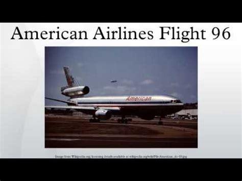 american airlines flight american airlines flight 96 youtube
