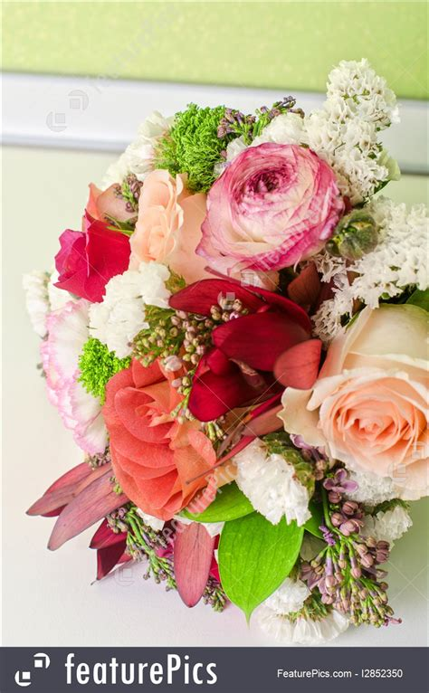 Wedding Flower Bunch by Flowers Wedding Bunch Of Flowers Stock Image I2852350