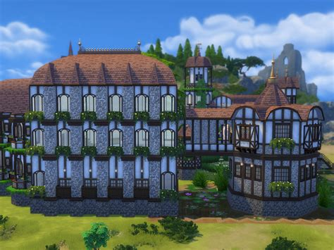 sims 4 medieval castle mankeff s windenburg castle