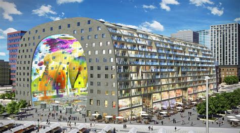 Markthal Rotterdam: The first covered market hall in the Netherlands officially opens