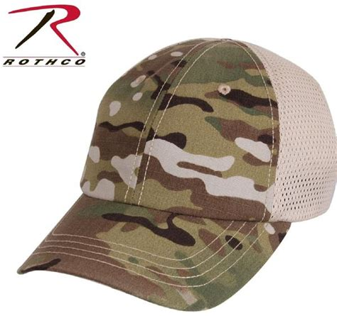 Topi Tactical Multicam Trucker multicam camouflage mesh back adjustable baseball cap rothco camo ha grunt