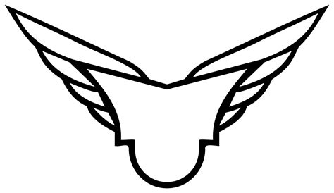 Wings Secutiry clipart wings badge