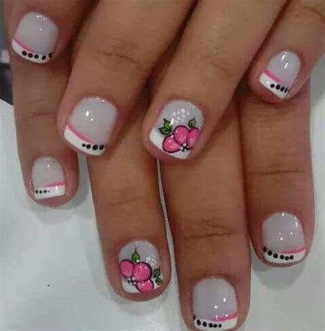 imagenes uñas decoradas frances uas decoradas francesa uas acrlicas decoradas con