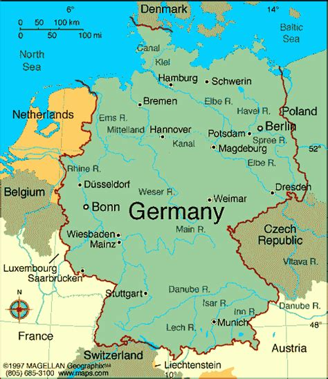 cities in germany map of germany with cities map of germany showing