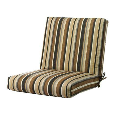 home decorators outdoor cushions home decorators collection sunbrella espresso stripe