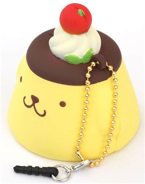 pom pom purin pudding squishy cellphone charm food squishies squishies shop modes4u